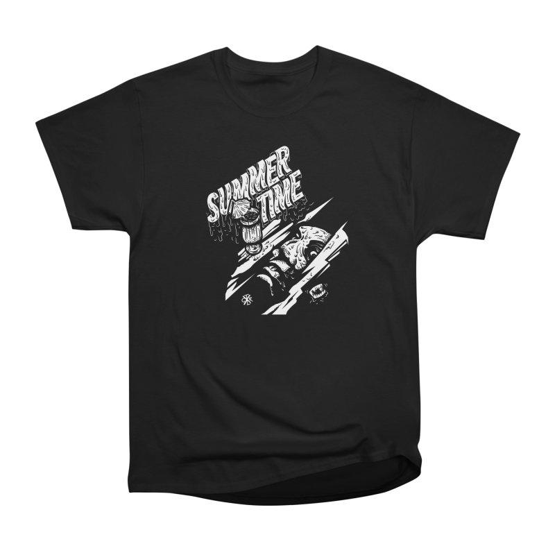 Summer Times Men's Heavyweight T-Shirt by controlx's Artist Shop