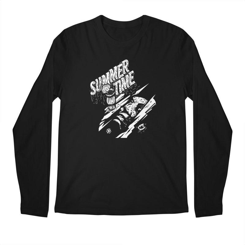 Summer Times Men's Regular Longsleeve T-Shirt by controlx's Artist Shop