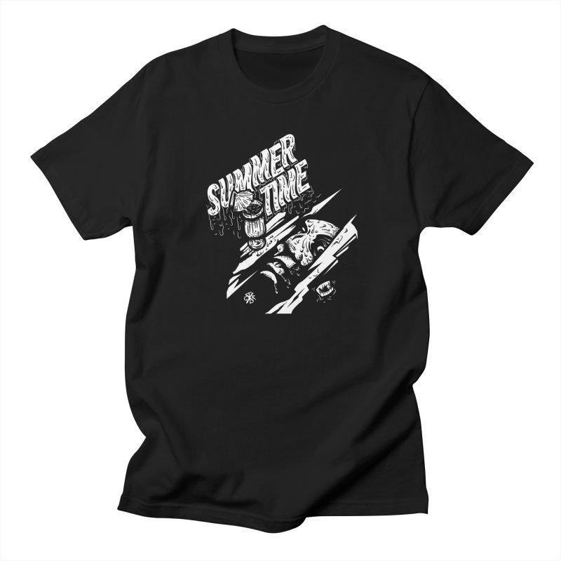Summer Times Men's Regular T-Shirt by controlx's Artist Shop