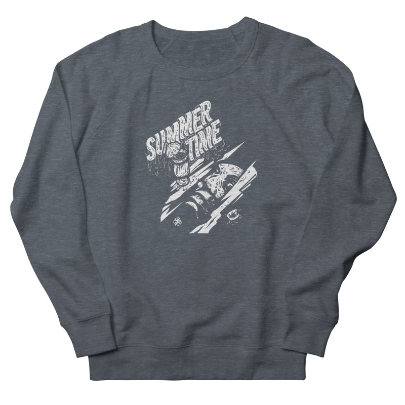 Summer Times Women's French Terry Sweatshirt by controlx's Artist Shop