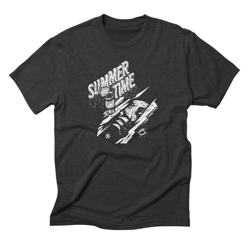 Summer Times Men's Triblend T-Shirt by controlx's Artist Shop