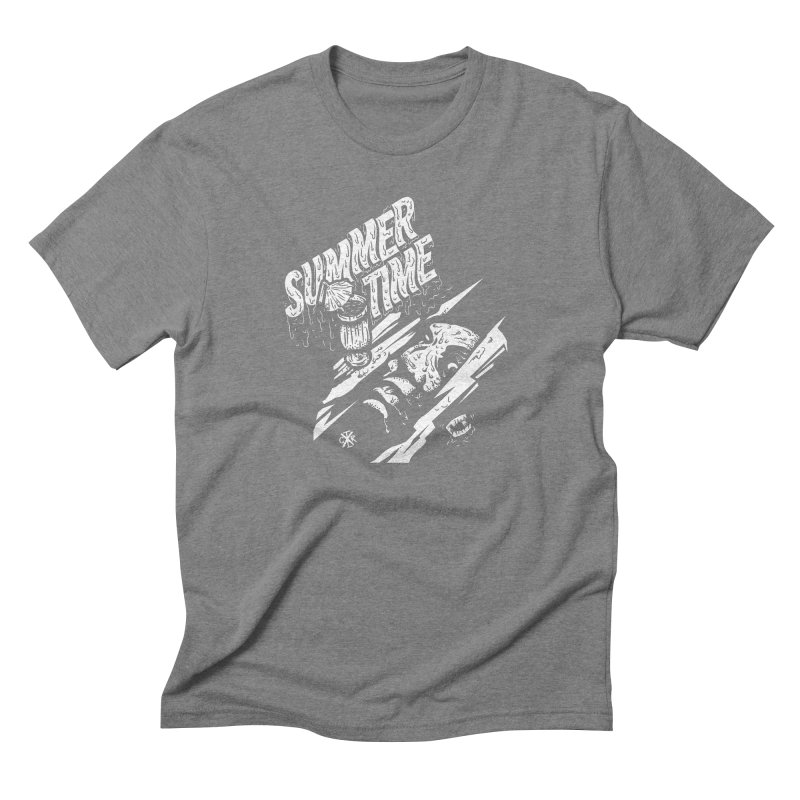Summer Times Men's Triblend T-Shirt by controlx's Artist Shop