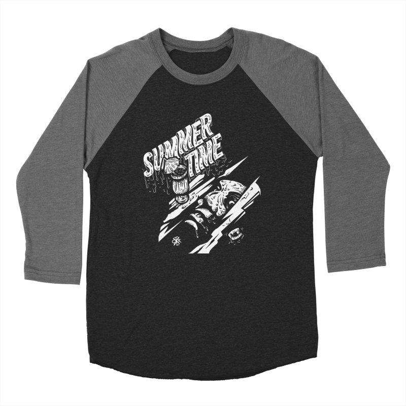 Summer Times Men's Baseball Triblend Longsleeve T-Shirt by controlx's Artist Shop
