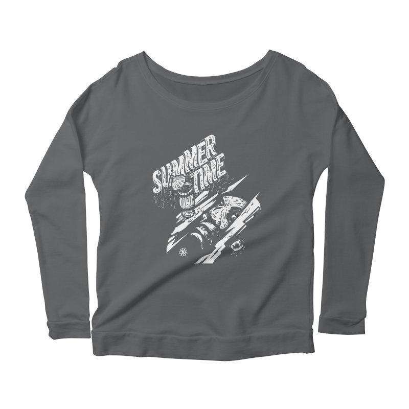 Summer Times Women's Scoop Neck Longsleeve T-Shirt by controlx's Artist Shop
