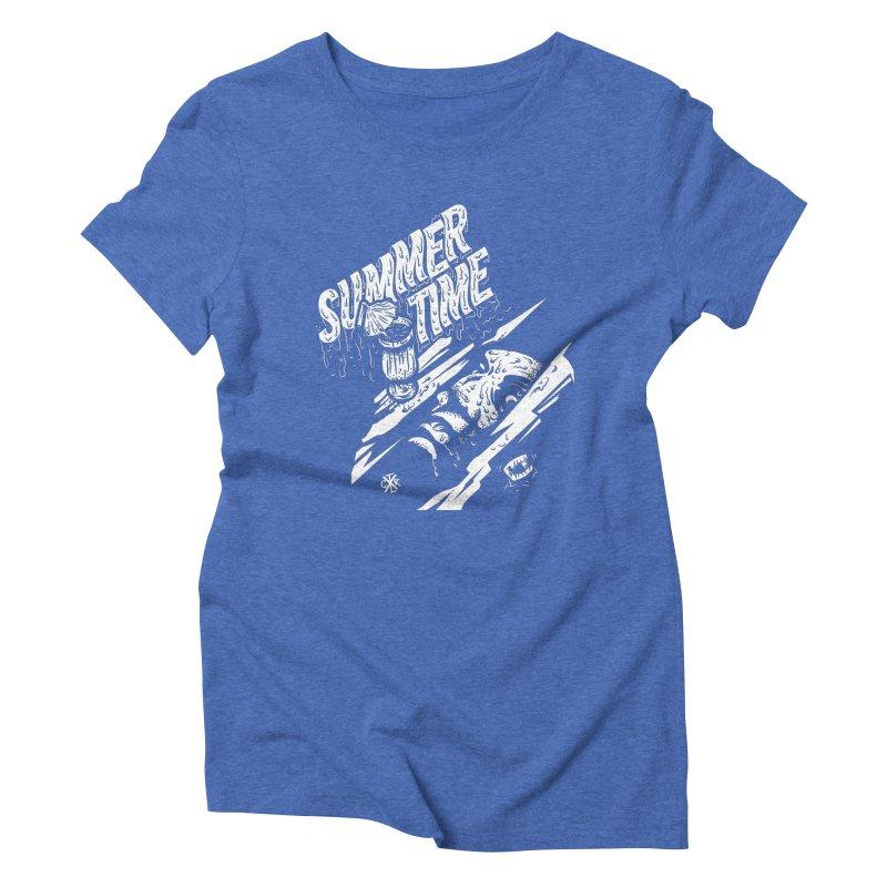 Summer Times Women's Triblend T-Shirt by controlx's Artist Shop