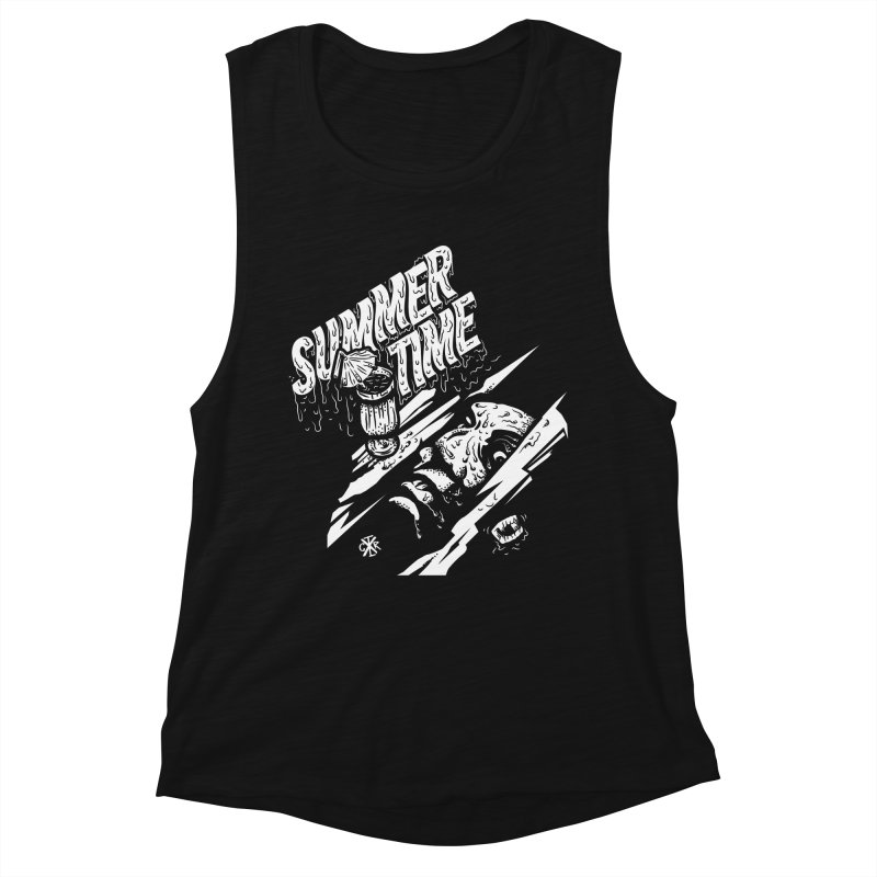 Summer Times Women's Muscle Tank by controlx's Artist Shop