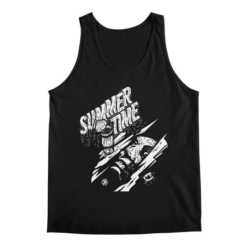 Summer Times Men's Regular Tank by controlx's Artist Shop