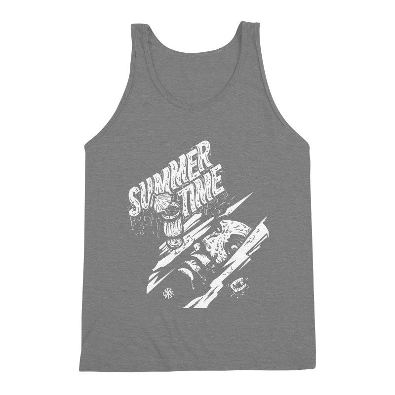 Summer Times Men's Triblend Tank by controlx's Artist Shop