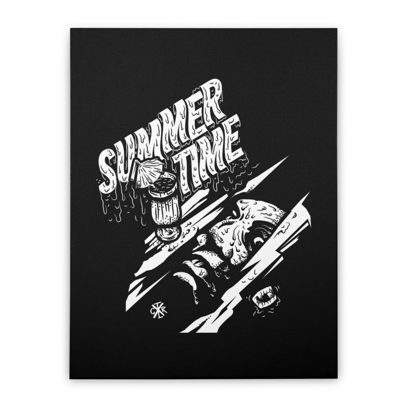 Summer Times Home Stretched Canvas by controlx's Artist Shop