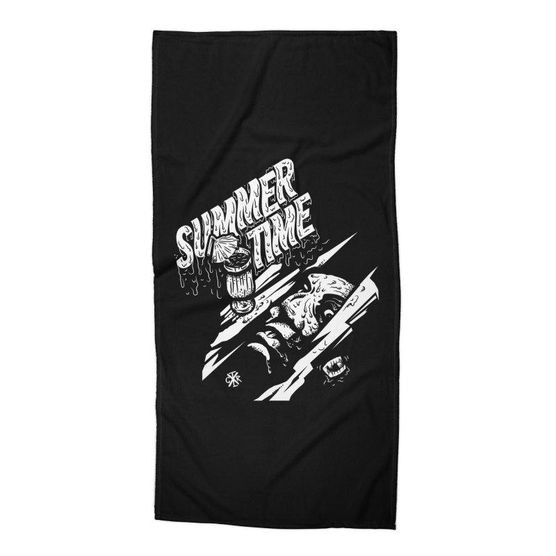 Summer Times Accessories Beach Towel by controlx's Artist Shop