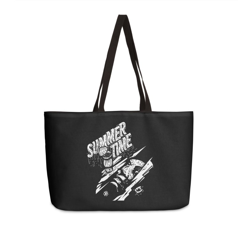 Summer Times Accessories Weekender Bag Bag by controlx's Artist Shop