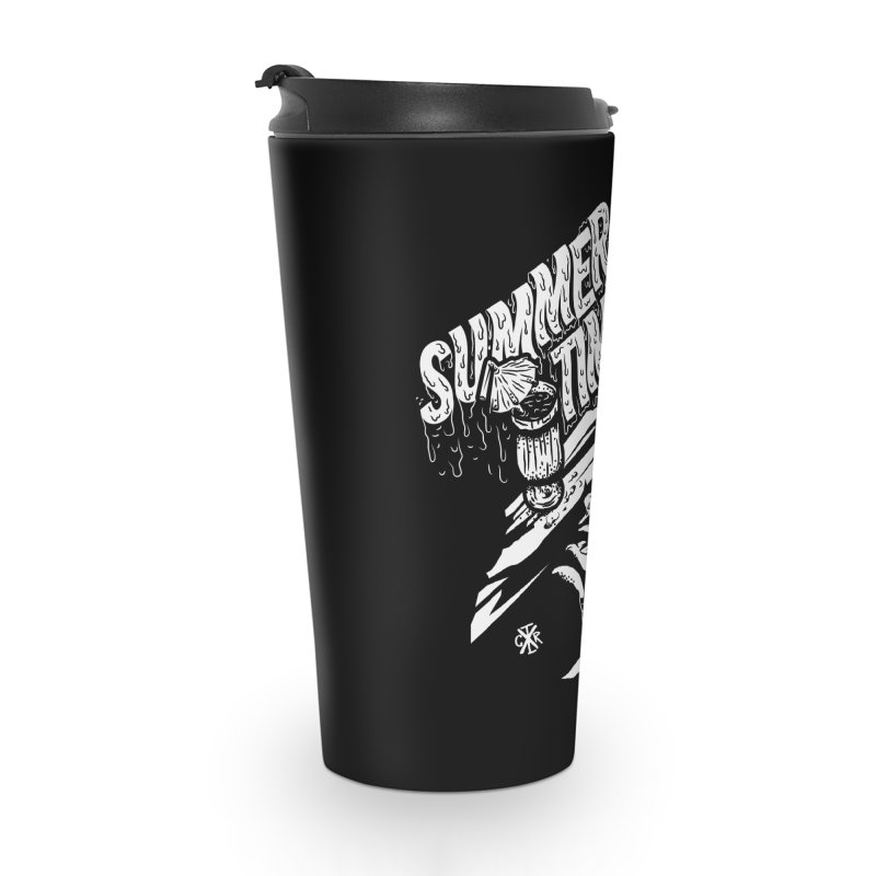 Summer Times Accessories Travel Mug by controlx's Artist Shop