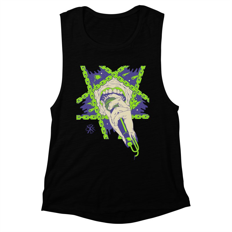 Other singer.... Women's Muscle Tank by controlx's Artist Shop