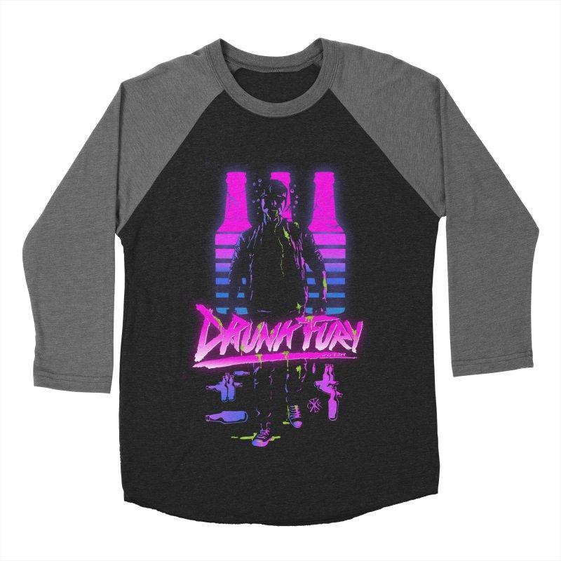 Drunk Fury Women's Baseball Triblend Longsleeve T-Shirt by controlx's Artist Shop