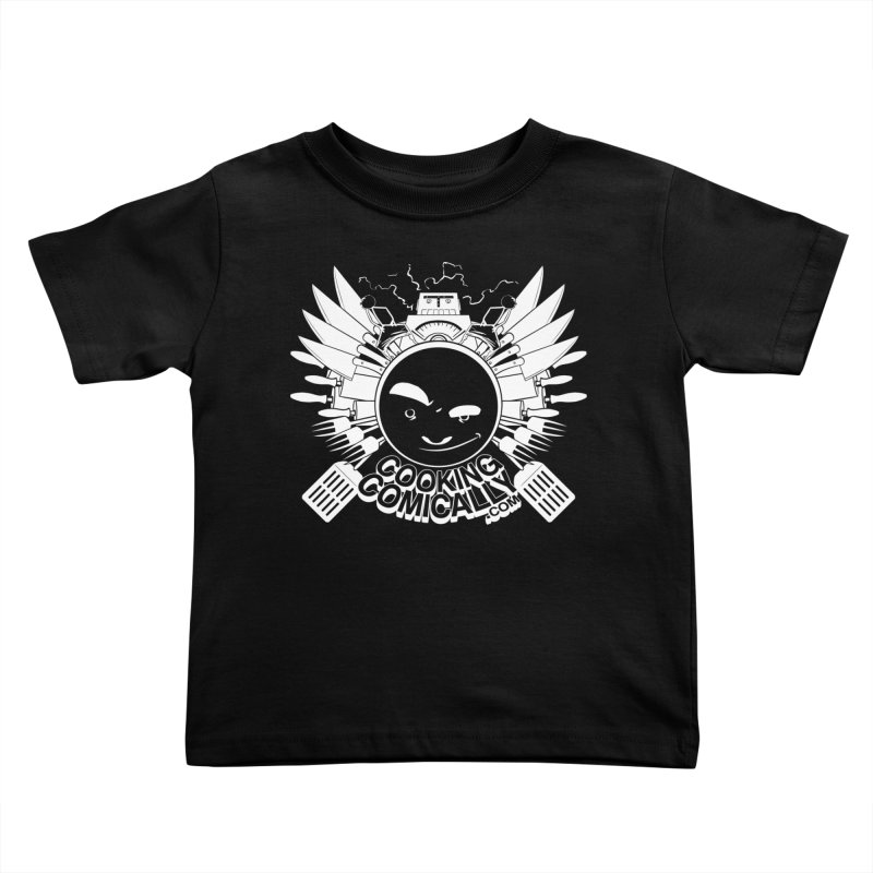 Classic Emblem Kids Toddler T-Shirt by Cooking Comically Stuff