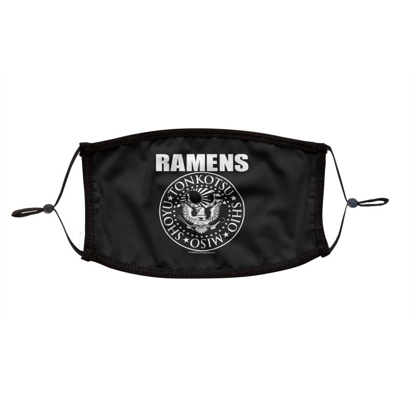 RAMENS Accessories Face Mask by RAMENS Shirts by Cooks and Casseroles