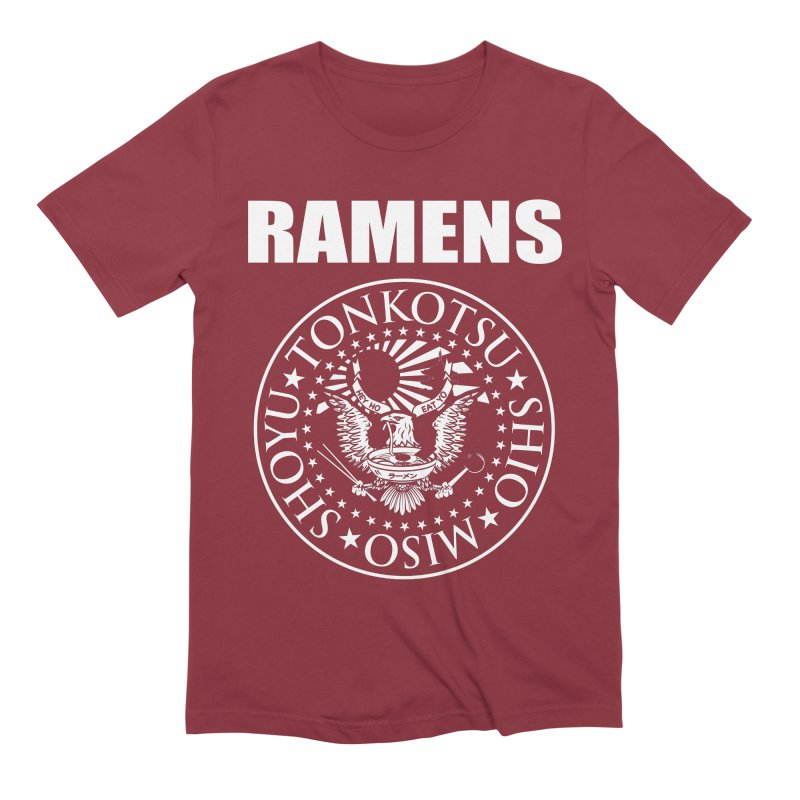 RAMENS Men's Extra Soft T-Shirt by Cooks and Casseroles