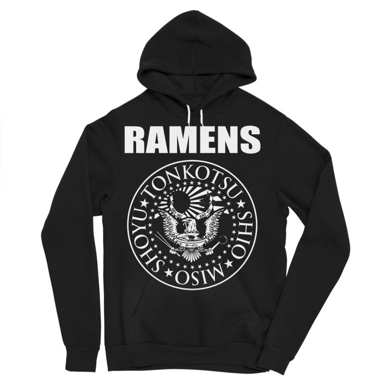 RAMENS Men's Sponge Fleece Pullover Hoody by Cooks and Casseroles