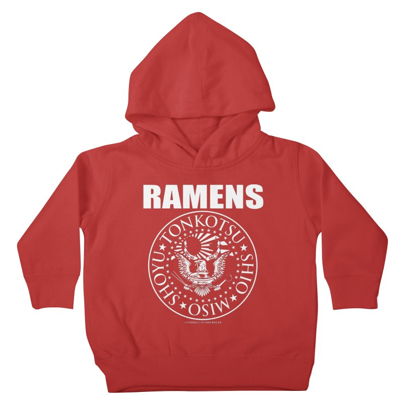 RAMENS Kids Toddler Pullover Hoody by RAMENS Shirts by Cooks and Casseroles