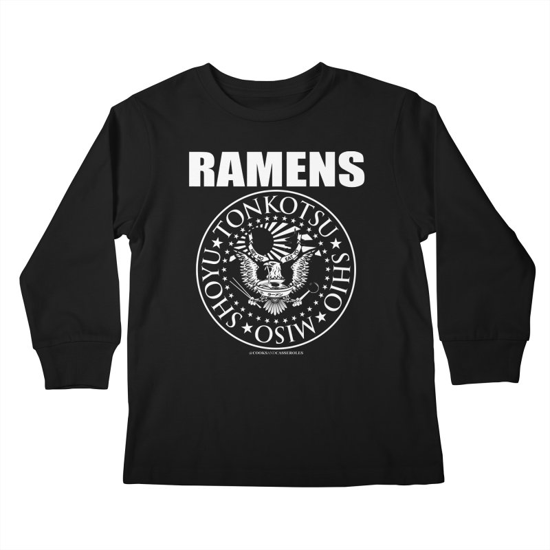 RAMENS Kids Longsleeve T-Shirt by RAMENS Shirts by Cooks and Casseroles