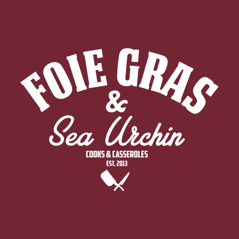 Foie Gras & Sea Urchin Men's Sweatshirt by Cooks and Casseroles