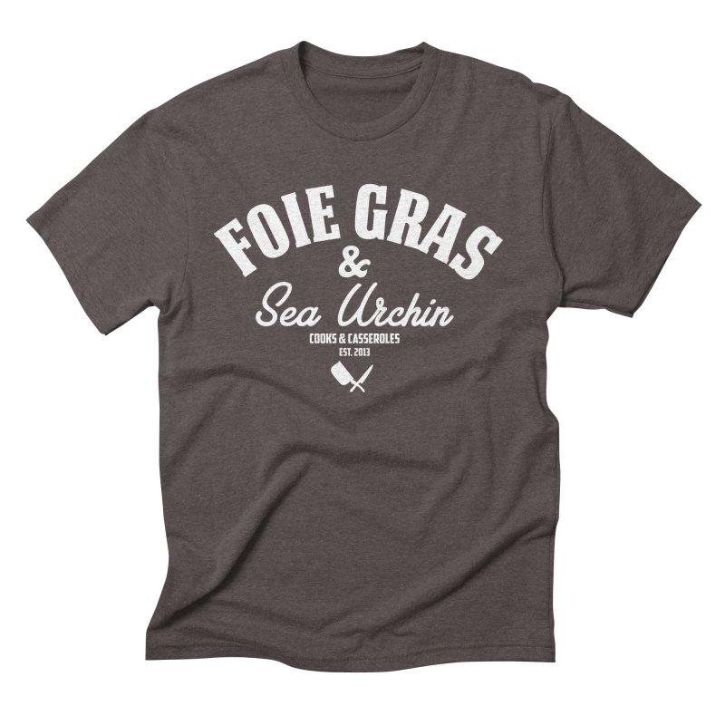 Foie Gras & Sea Urchin Men's T-Shirt by Cooks and Casseroles