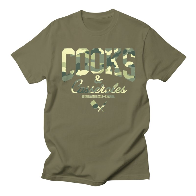 Cooks and Casseroles Camouflage Men's Regular T-Shirt by Cooks and Casseroles