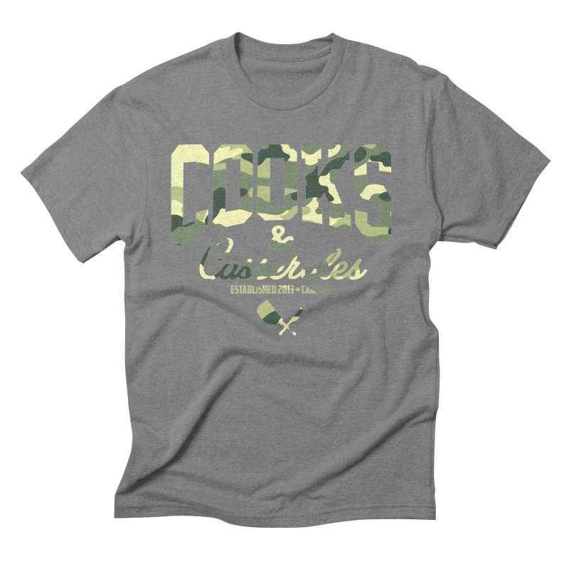 Cooks and Casseroles Camouflage Men's Triblend T-Shirt by Cooks and Casseroles
