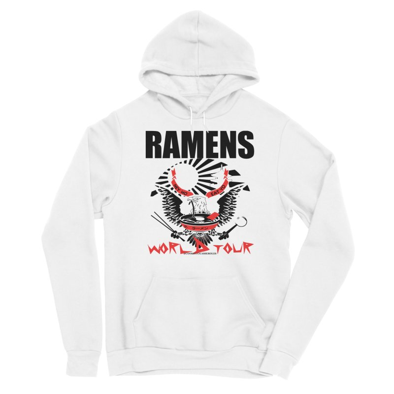 RAMENS WORLD TOUR Men's Pullover Hoody by RAMENS Shirts by Cooks and Casseroles