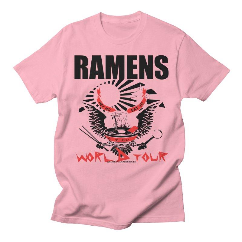 RAMENS WORLD TOUR Men's Regular T-Shirt by RAMENS Shirts by Cooks and Casseroles