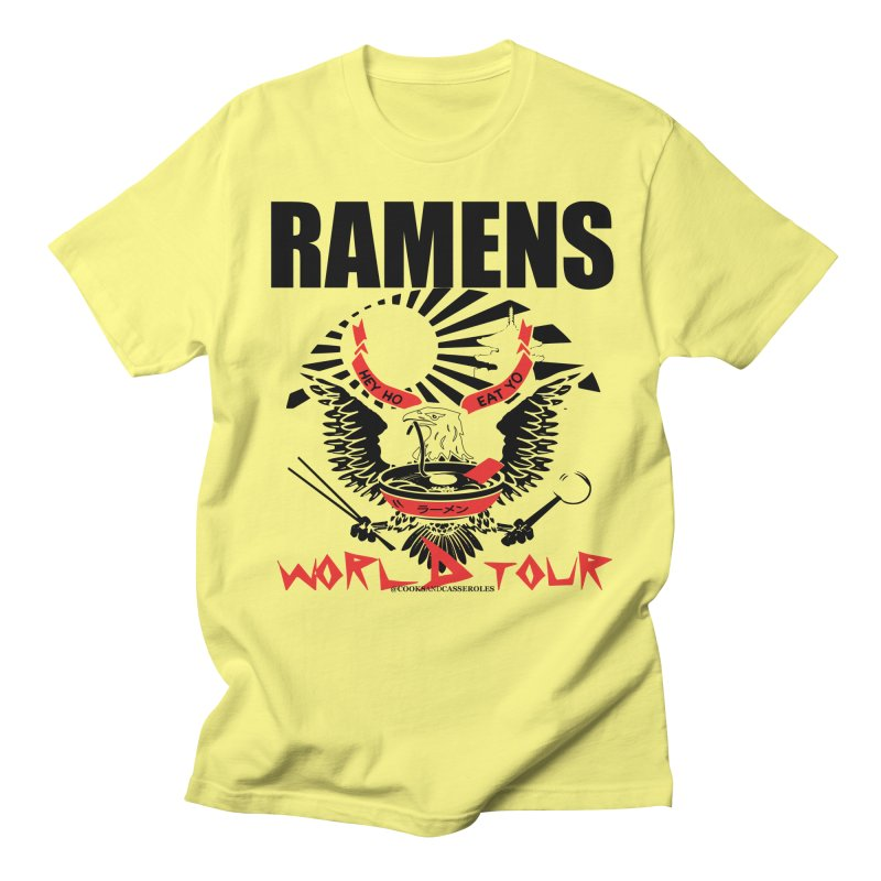 RAMENS WORLD TOUR Men's T-Shirt by RAMENS Shirts by Cooks and Casseroles