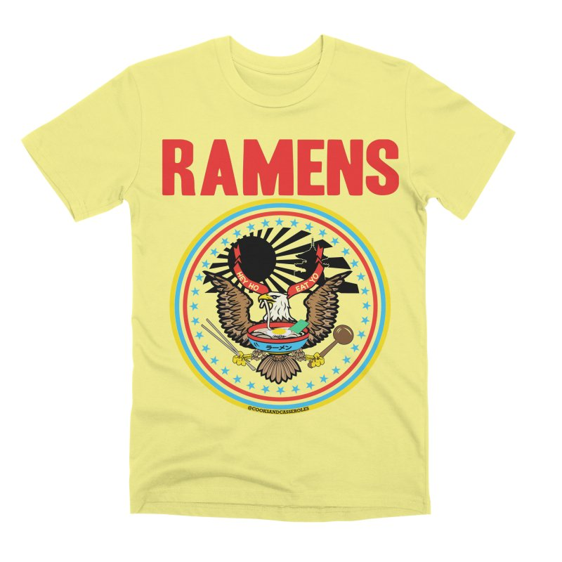 RAMENS LIMITED EDITION Men's Premium T-Shirt by RAMENS Shirts by Cooks and Casseroles