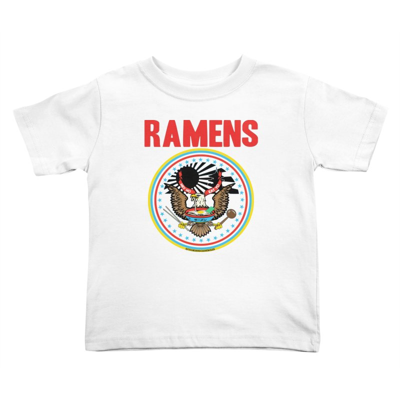 RAMENS LIMITED EDITION Kids Toddler T-Shirt by RAMENS Shirts by Cooks and Casseroles
