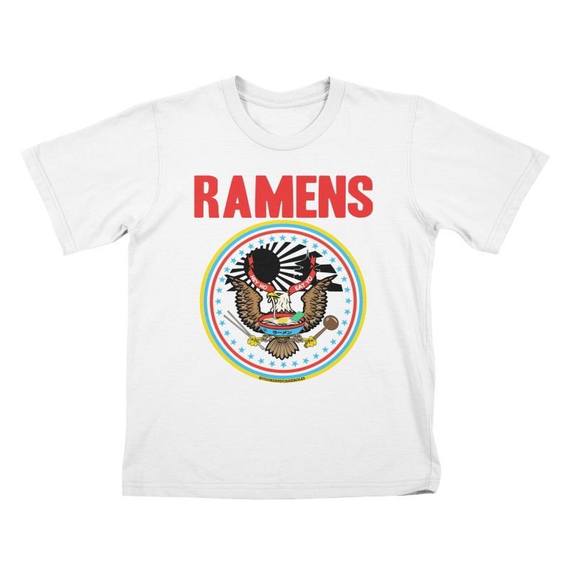 RAMENS LIMITED EDITION Kids T-Shirt by RAMENS Shirts by Cooks and Casseroles