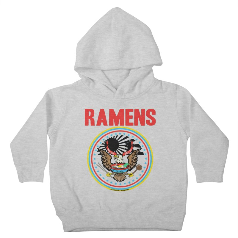 RAMENS LIMITED EDITION Kids Toddler Pullover Hoody by RAMENS Shirts by Cooks and Casseroles