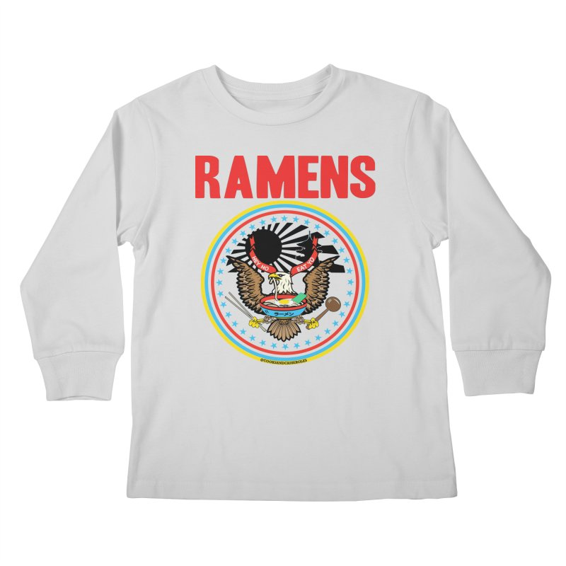 RAMENS LIMITED EDITION Kids Longsleeve T-Shirt by RAMENS Shirts by Cooks and Casseroles