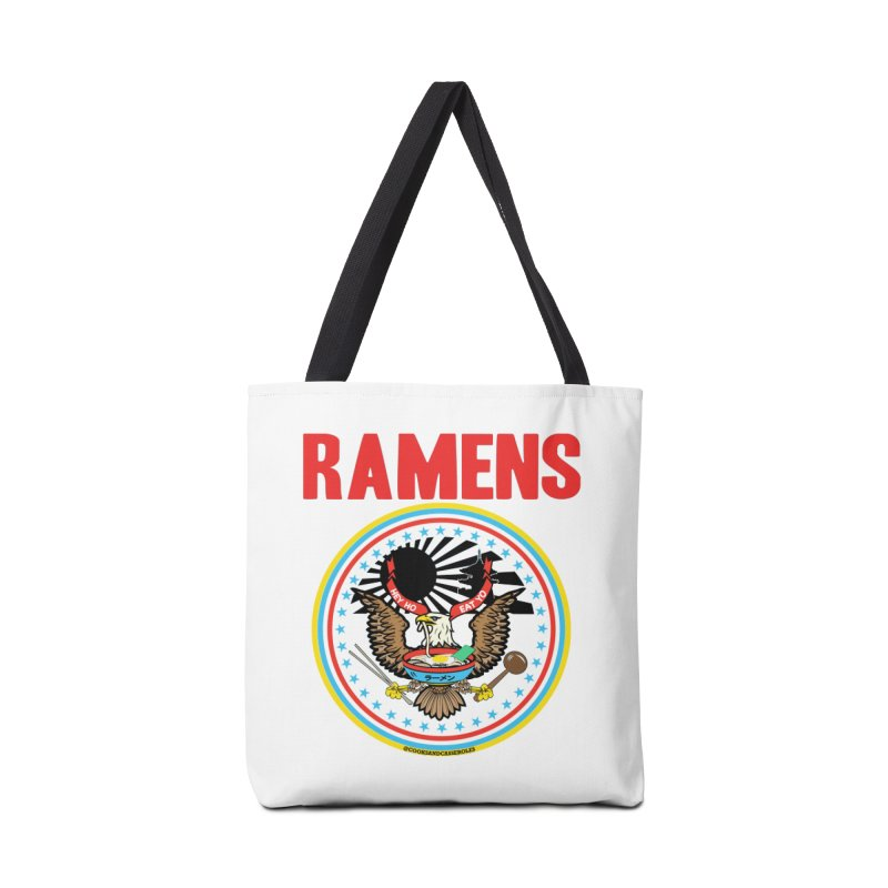 RAMENS LIMITED EDITION Accessories Tote Bag Bag by RAMENS Shirts by Cooks and Casseroles