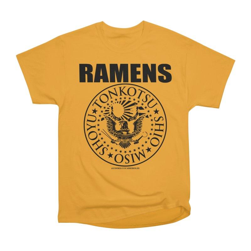 RAMENS Men's Heavyweight T-Shirt by RAMENS Shirts by Cooks and Casseroles