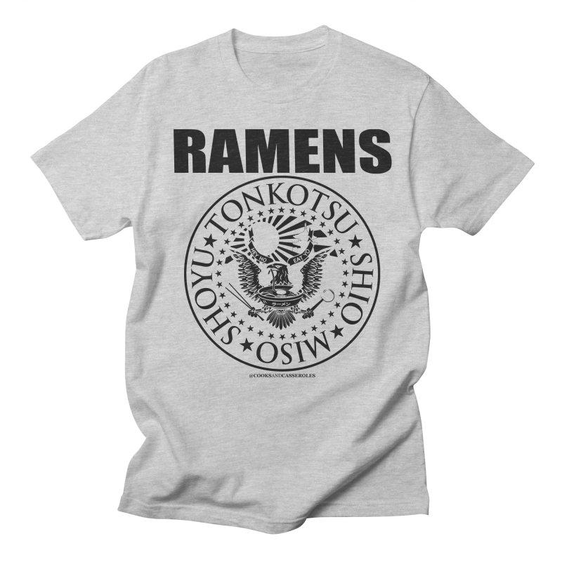 RAMENS Men's Regular T-Shirt by RAMENS Shirts by Cooks and Casseroles