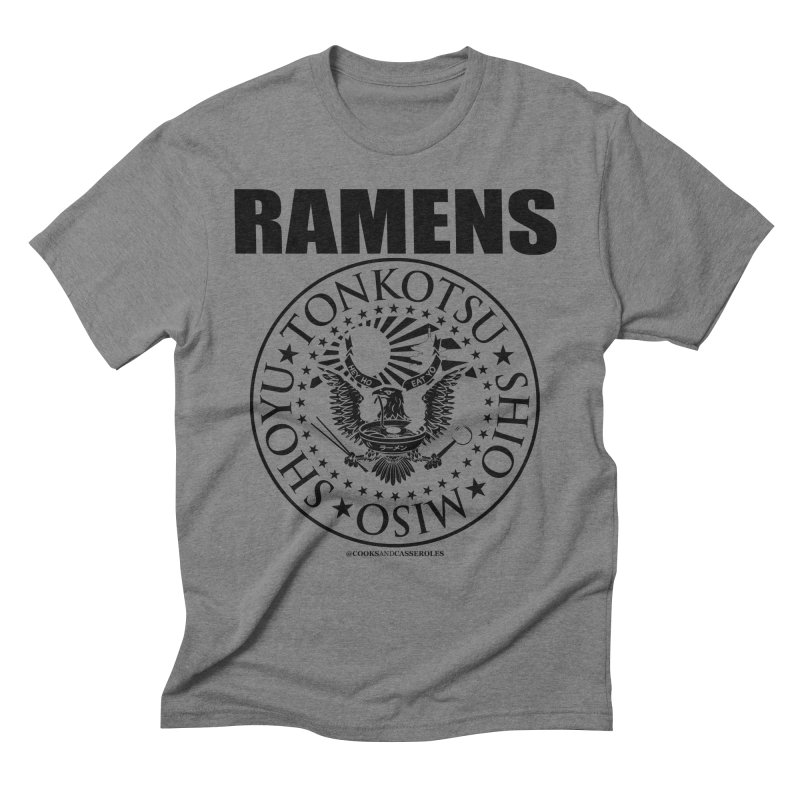 RAMENS Men's T-Shirt by RAMENS Shirts by Cooks and Casseroles