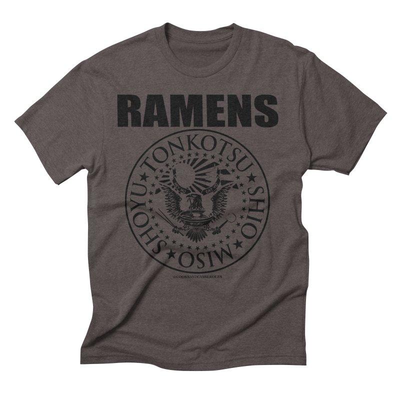RAMENS Men's Triblend T-Shirt by RAMENS Shirts by Cooks and Casseroles