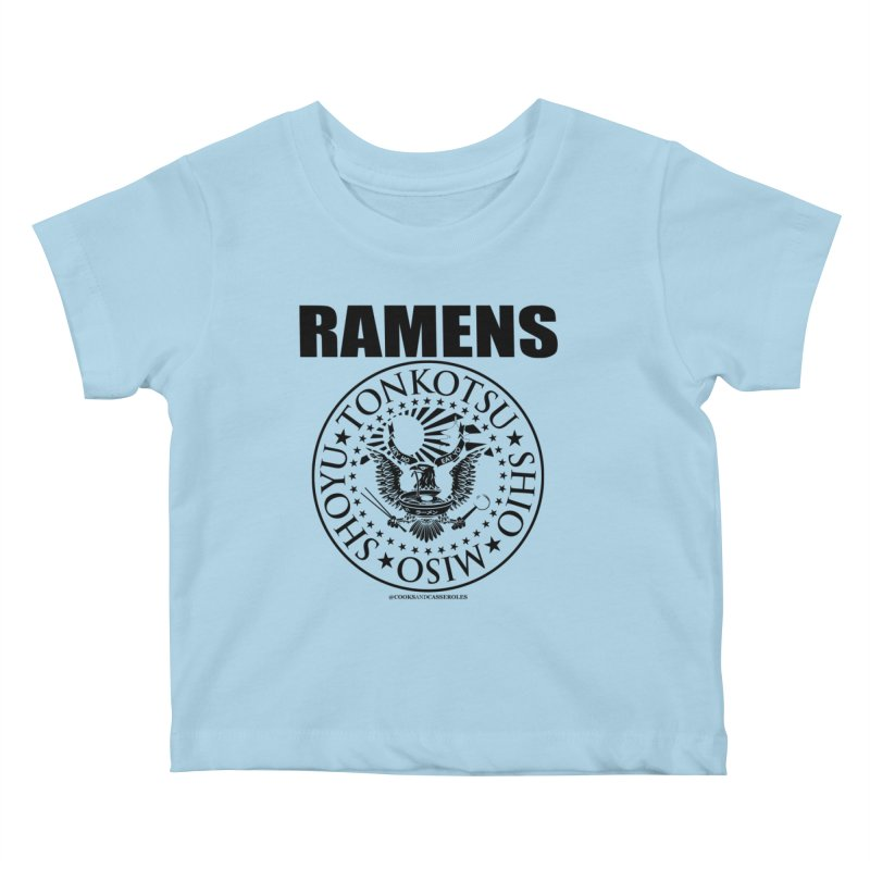 RAMENS Kids Baby T-Shirt by RAMENS Shirts by Cooks and Casseroles