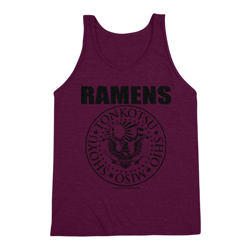 RAMENS Men's Triblend Tank by RAMENS Shirts by Cooks and Casseroles