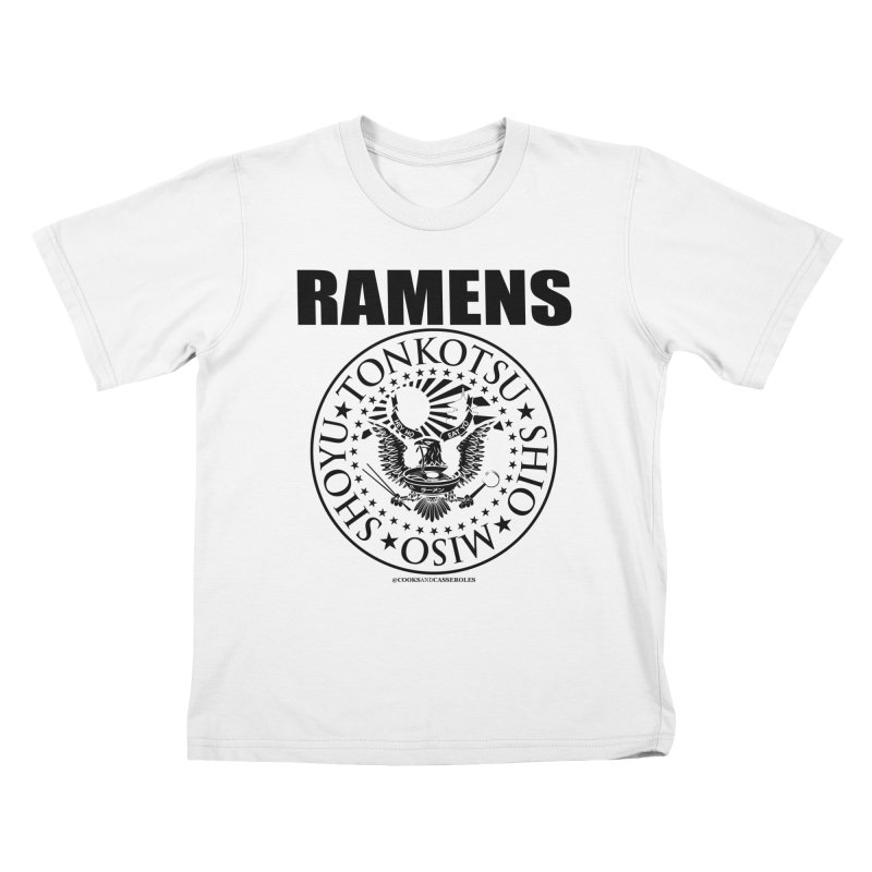 RAMENS Kids T-Shirt by RAMENS Shirts by Cooks and Casseroles