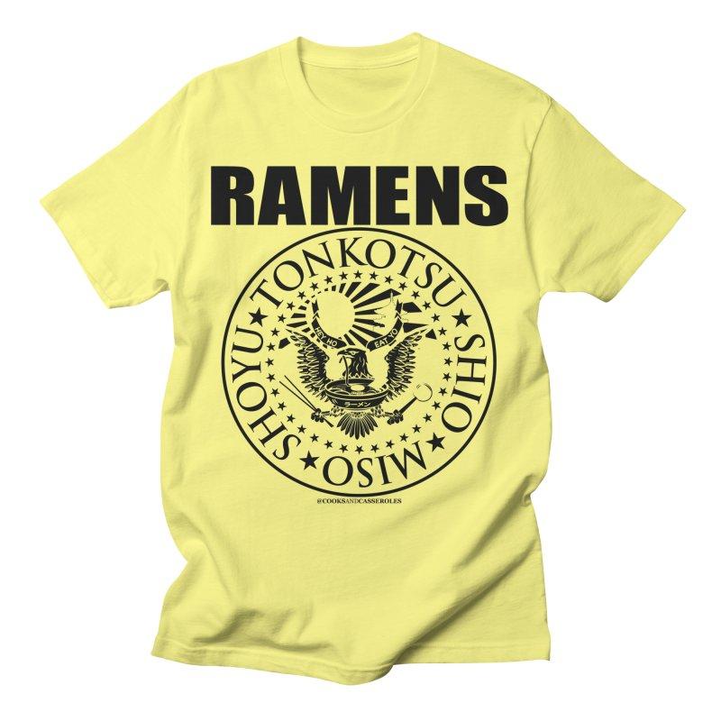 RAMENS Men's T-Shirt by RAMENS Shirts by Cooks and Casseroles