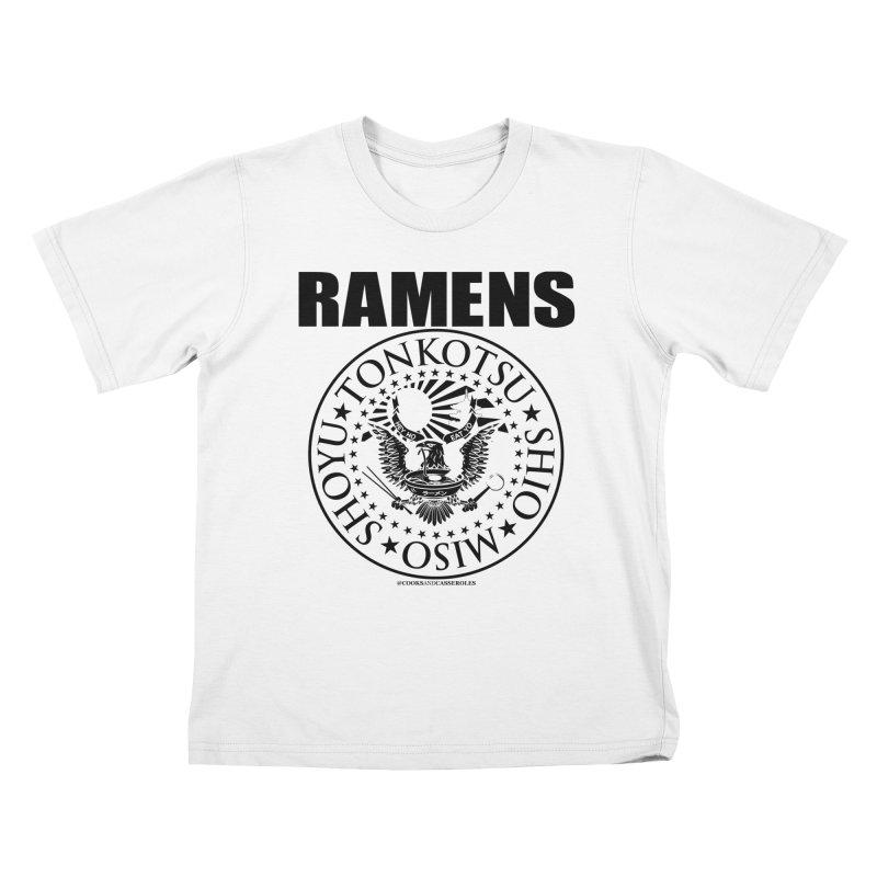 RAMENS Kids T-Shirt by RAMENS Shirts by Cooks and Casseroles