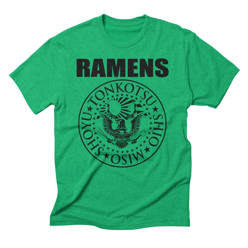RAMENS  Men's Triblend T-Shirt by Cooks and Casseroles
