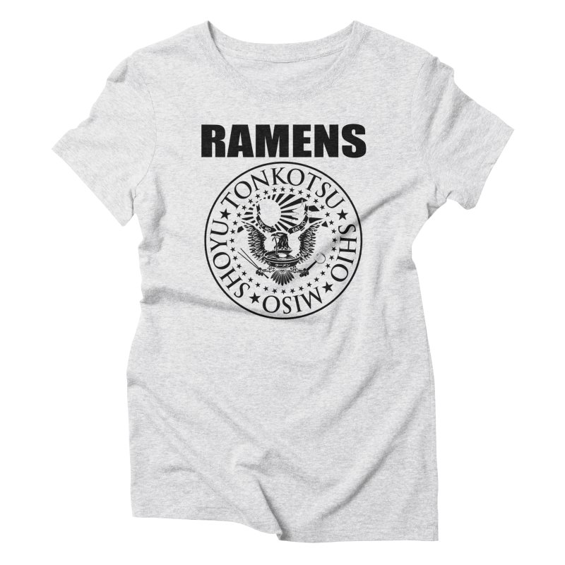 RAMENS  Women's Triblend T-Shirt by Cooks and Casseroles
