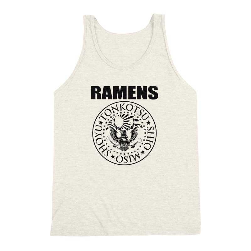RAMENS  Men's Triblend Tank by Cooks and Casseroles