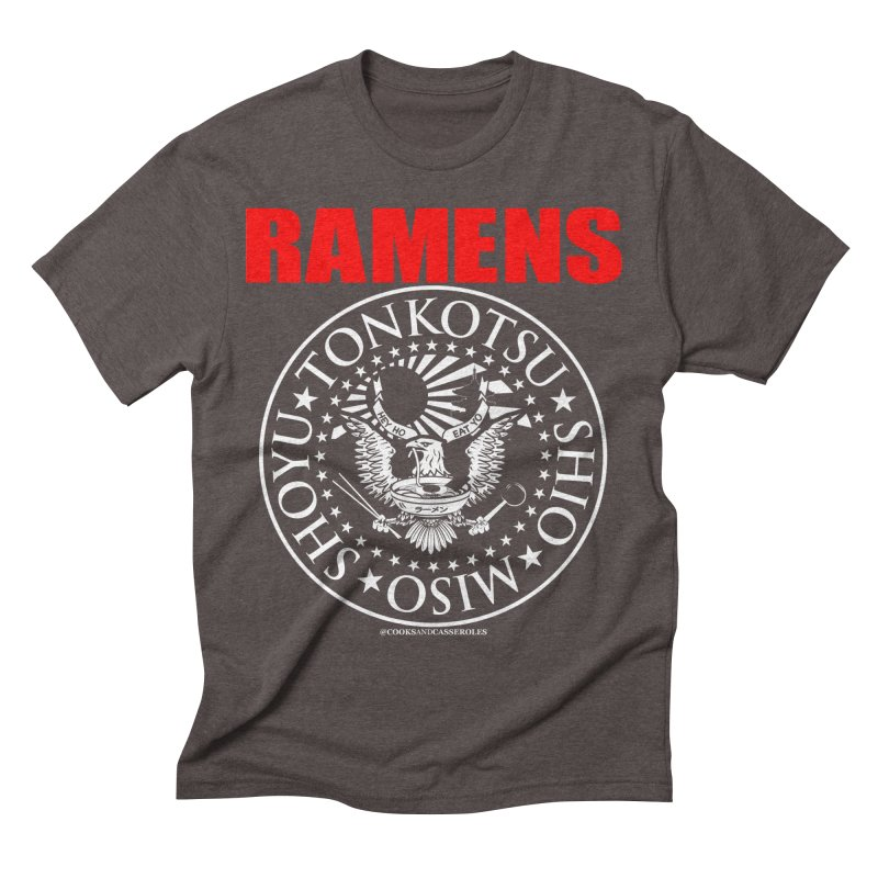 RAMENS RED Men's T-Shirt by RAMENS Shirts by Cooks and Casseroles